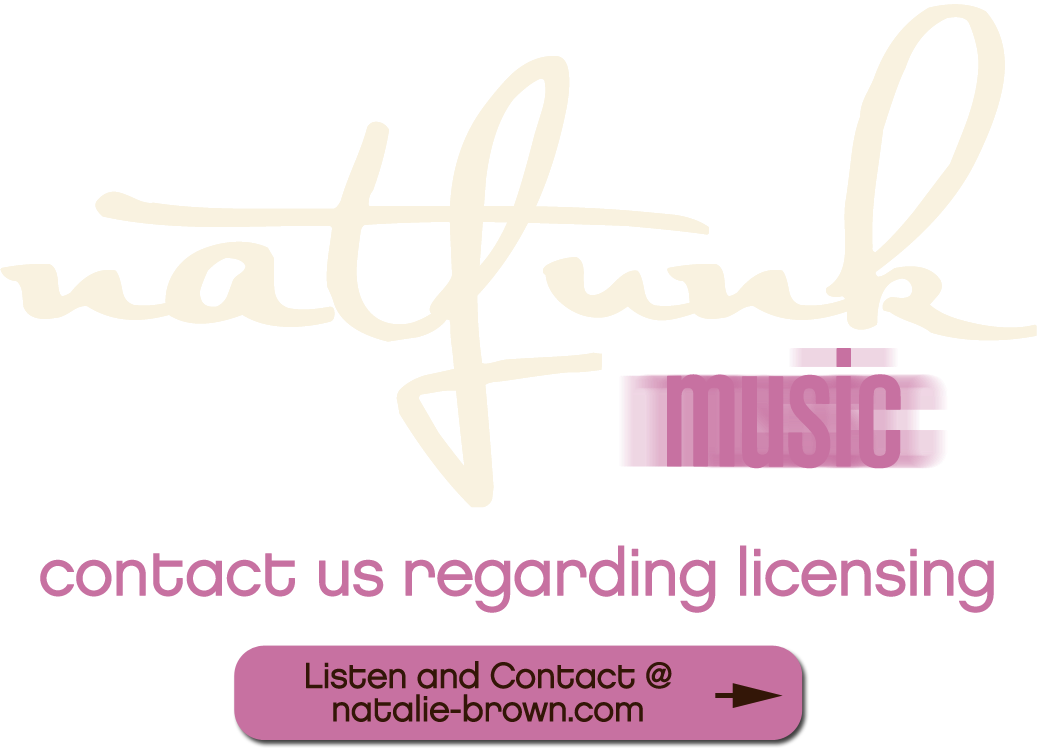 Natalie Brown natfunk music publishing company
